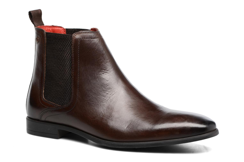 Bottines et boots Base London Guinea Marron vue détail/paire
