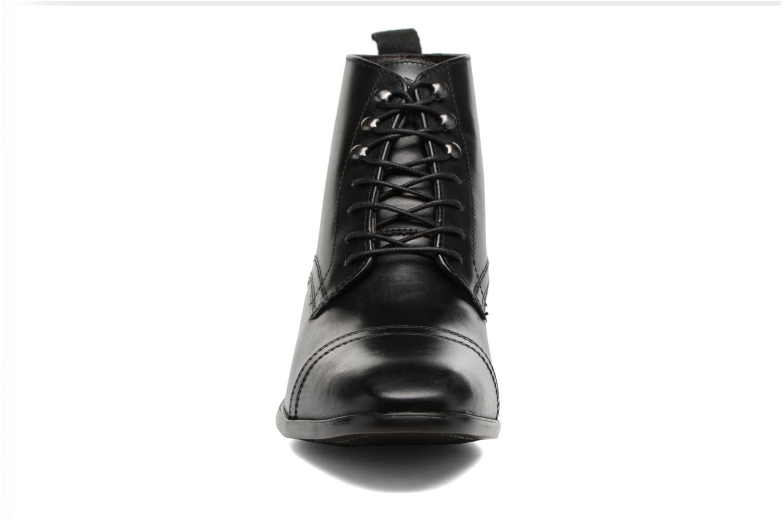 Bottines et boots Base London Clayton Noir vue portées chaussures