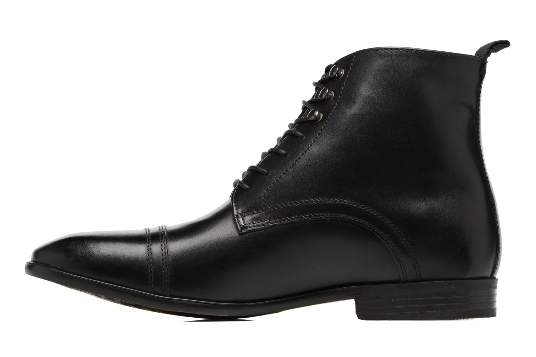 Bottines et boots Base London Clayton Noir vue face