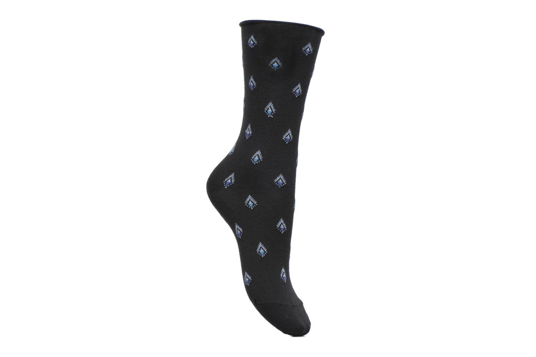 Sokken en panty's BLEUFORÊT Chaussettes Laine All Over Pendentifs Touche Lurex Zwart detail