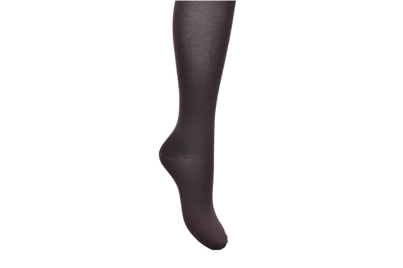 Socks & tights BLEUFORÊT Collants Laine Fine Intérieur Coton Burgundy detailed view/ Pair view