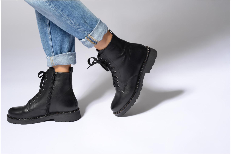 Bottines et boots Jonak Moon Noir vue bas / vue portée sac