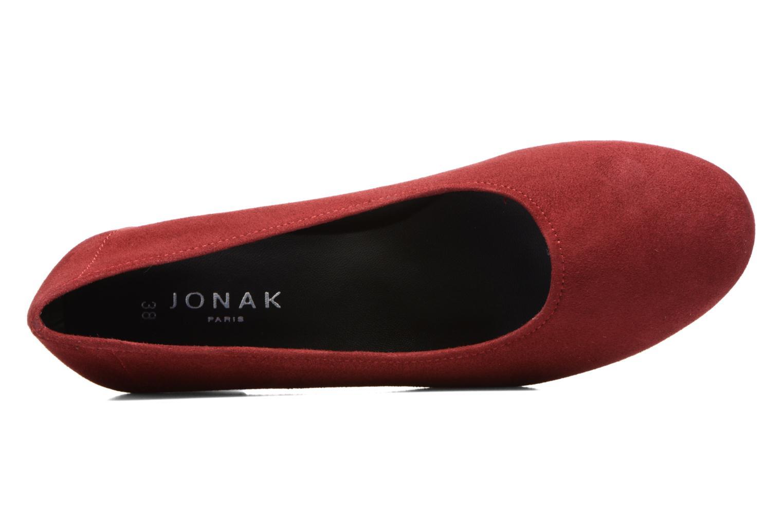 Zapatos de tacón Jonak Aura Vino vista lateral izquierda