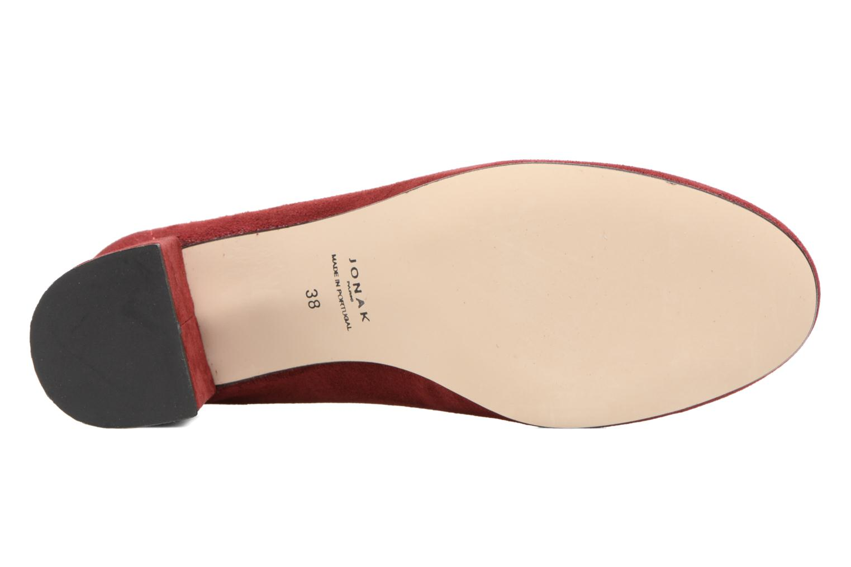 Zapatos de tacón Jonak Aura Vino vista de arriba