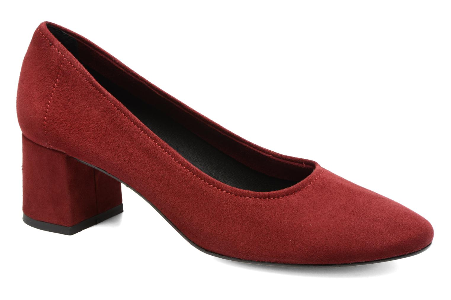 Pumps Jonak Aura Bordeaux detail