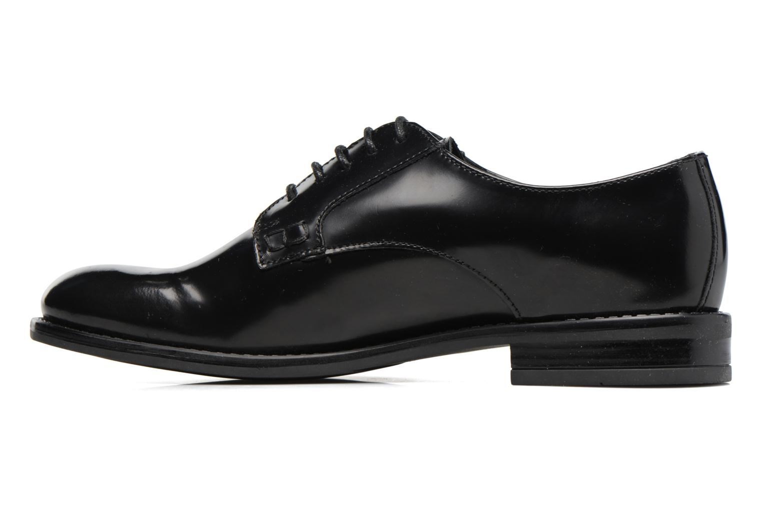Lace-up shoes Jonak CD60008 Black front view
