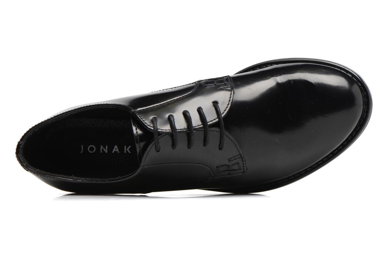 Schnürschuhe Jonak CD60008 schwarz ansicht von links