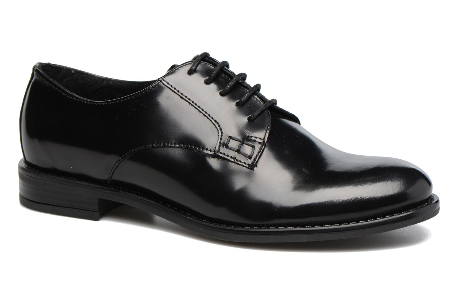 Lace-up shoes Jonak CD60008 Black detailed view/ Pair view