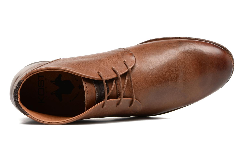 Chaussures à lacets Kost Sarre 1 Marron vue gauche
