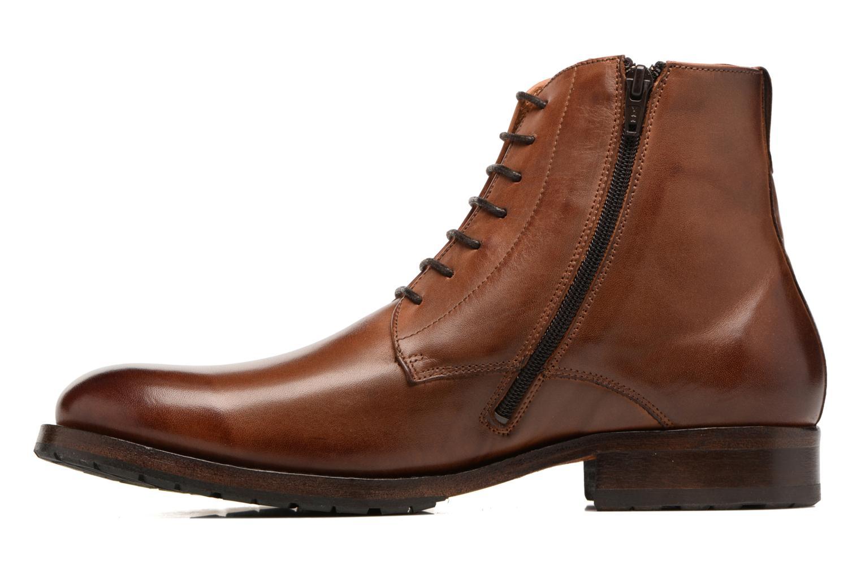 Bottines et boots Kost Drome 45 Marron vue face