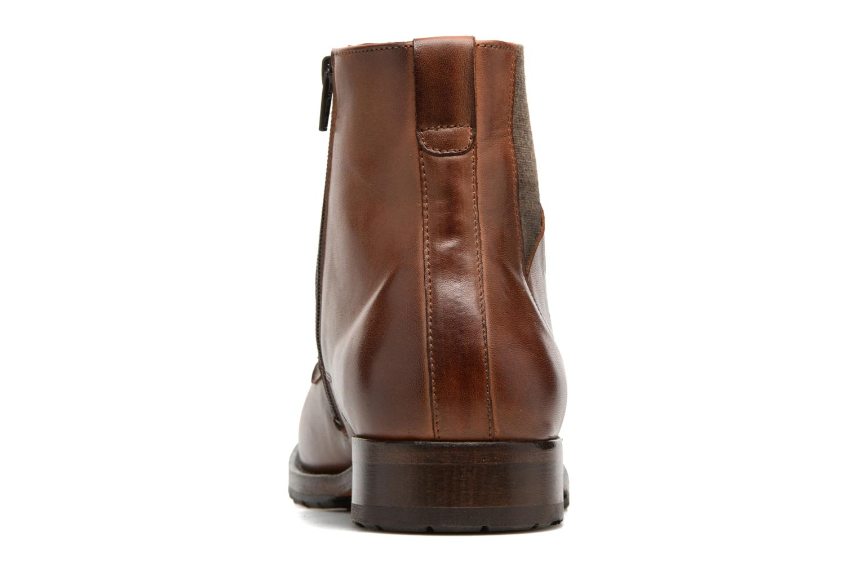 Bottines et boots Kost Drome 45 Marron vue droite