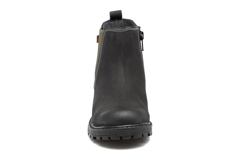 Stivaletti e tronchetti Gioseppo 41553 Nero modello indossato