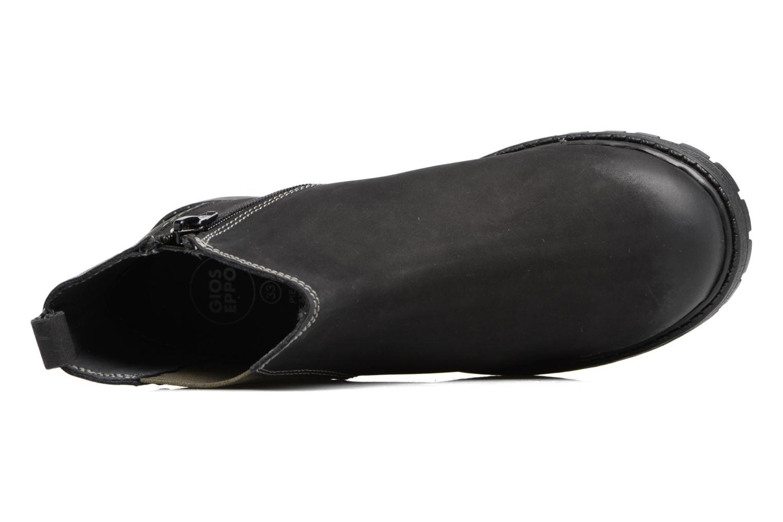 Botines  Gioseppo 41553 Negro vista lateral izquierda