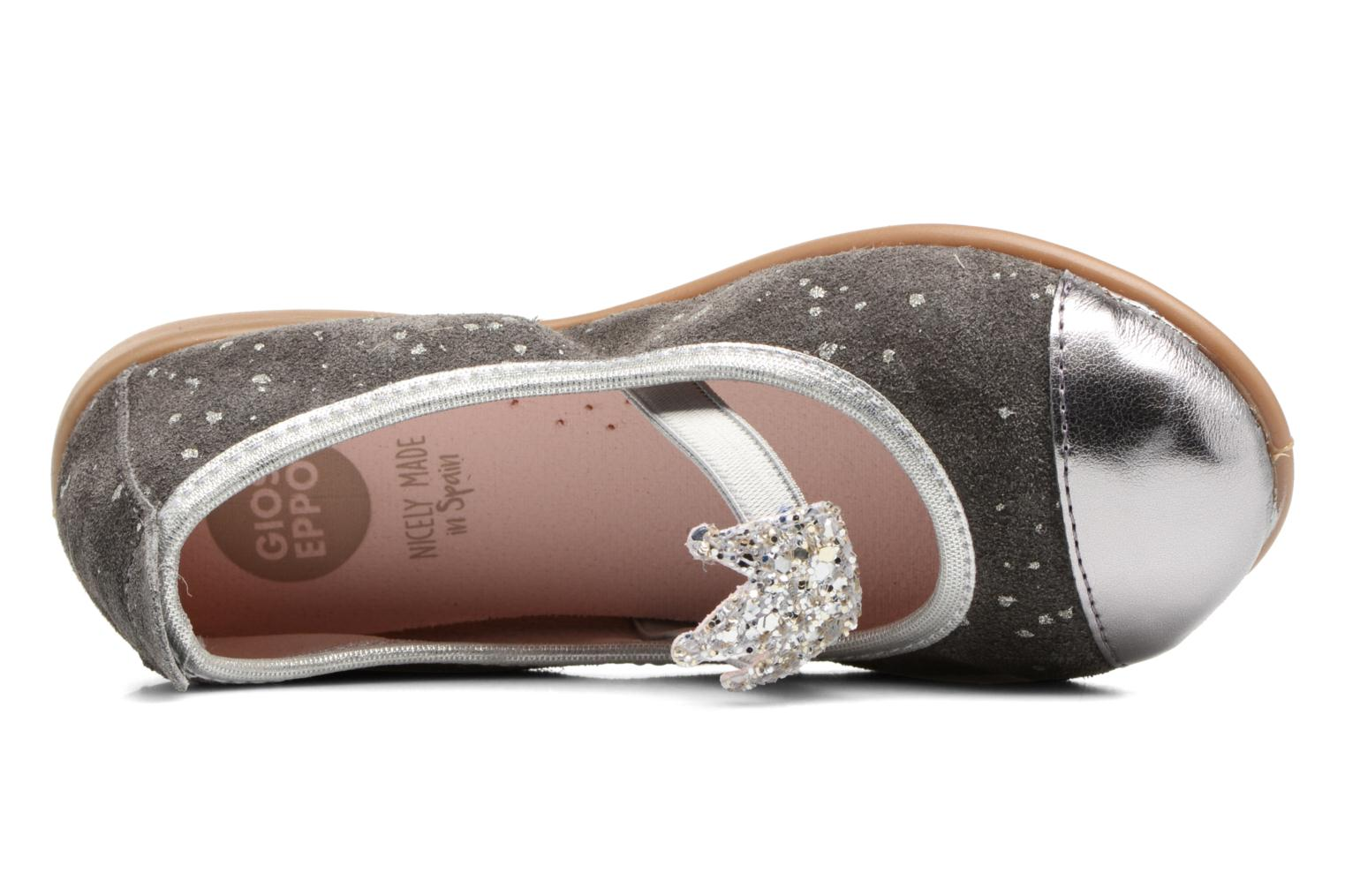 Ballet pumps Gioseppo 41623 Grey view from the left