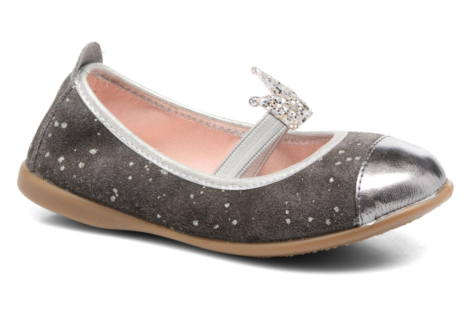 Ballet pumps Gioseppo 41623 Grey detailed view/ Pair view