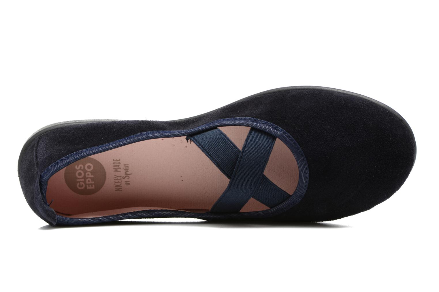 Ballet pumps Gioseppo 41621 Blue view from the left