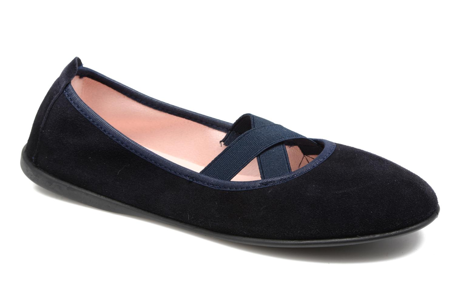 Ballet pumps Gioseppo 41621 Blue detailed view/ Pair view