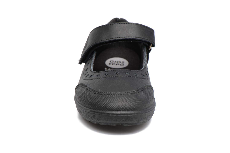 Ballerines Gioseppo ALPHA Noir vue portées chaussures