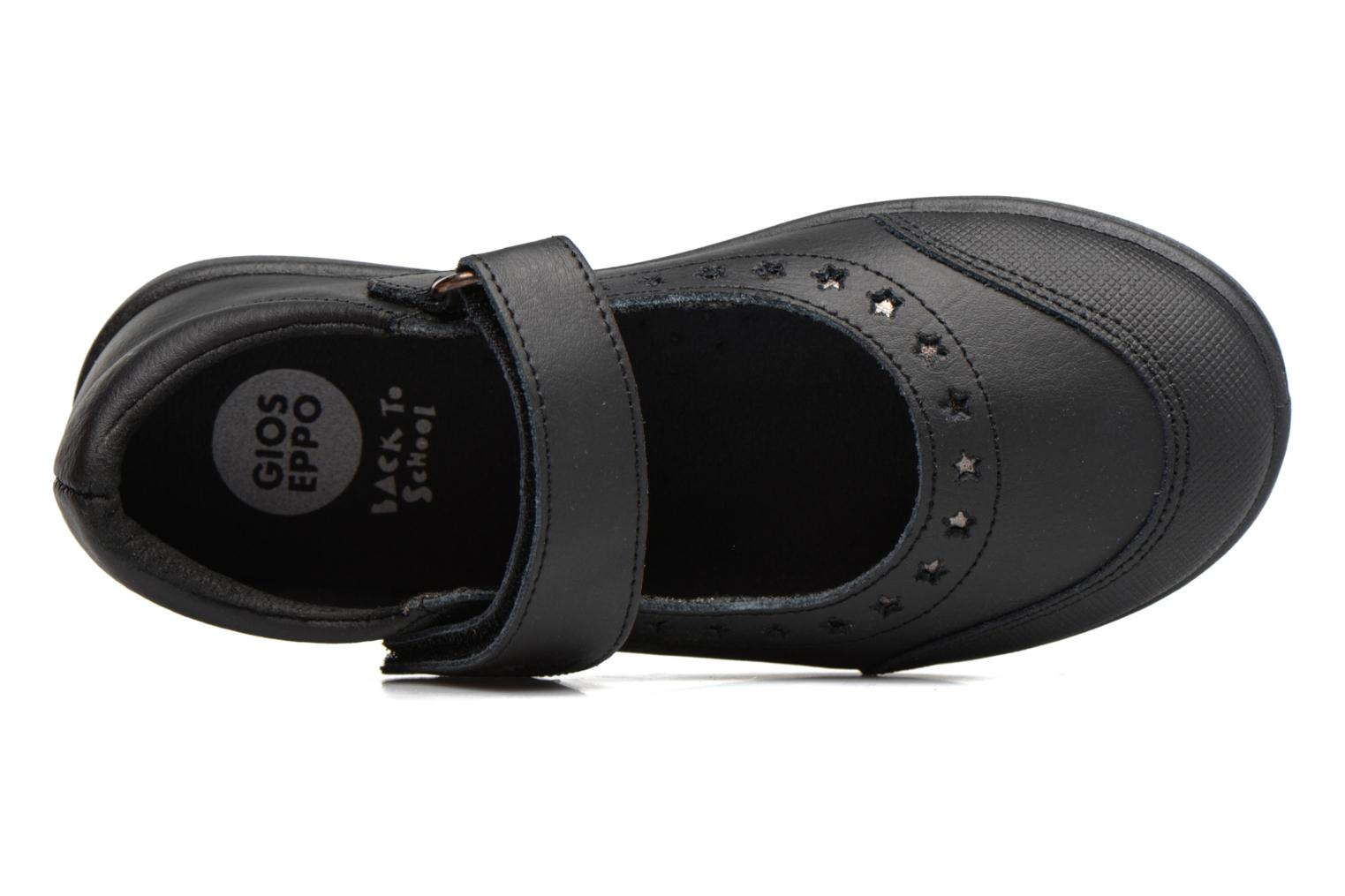 Ballet pumps Gioseppo ALPHA Black view from the left