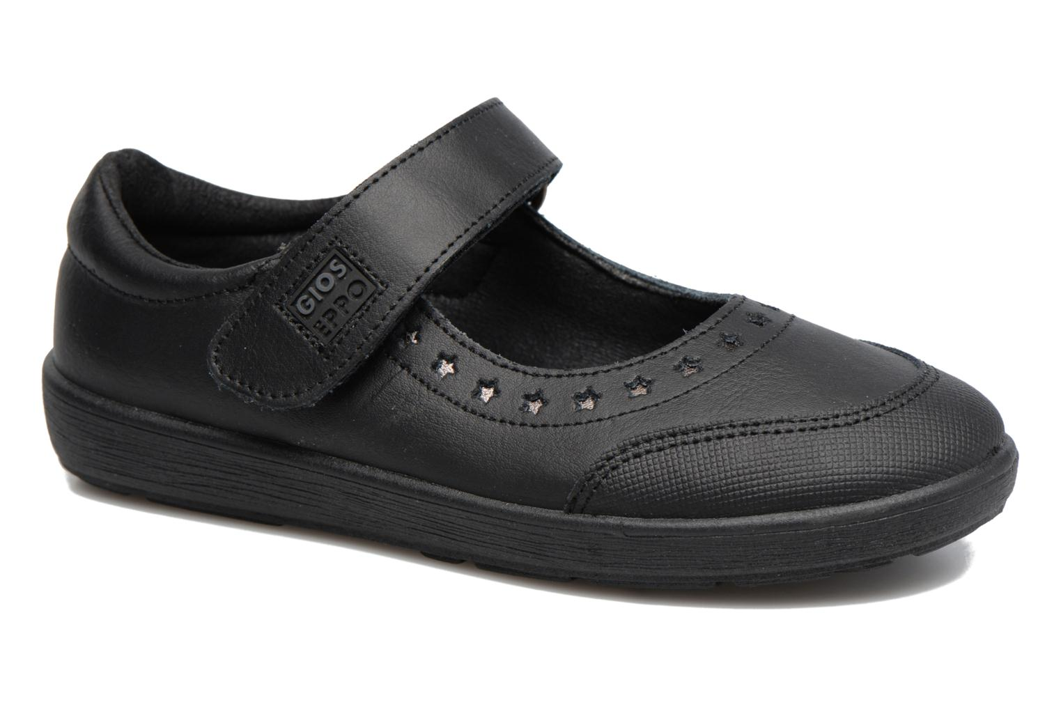 Ballet pumps Gioseppo ALPHA Black detailed view/ Pair view
