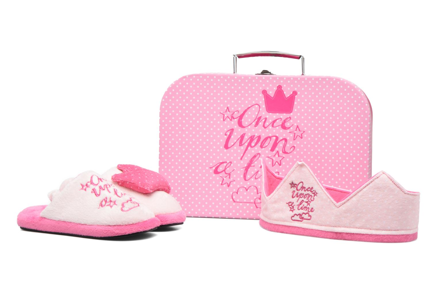 Chaussons Gioseppo 40773 Rose vue 3/4
