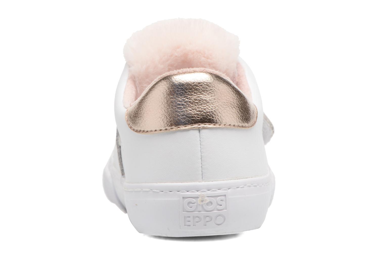Sneakers Gioseppo 41801 Hvid Se fra højre
