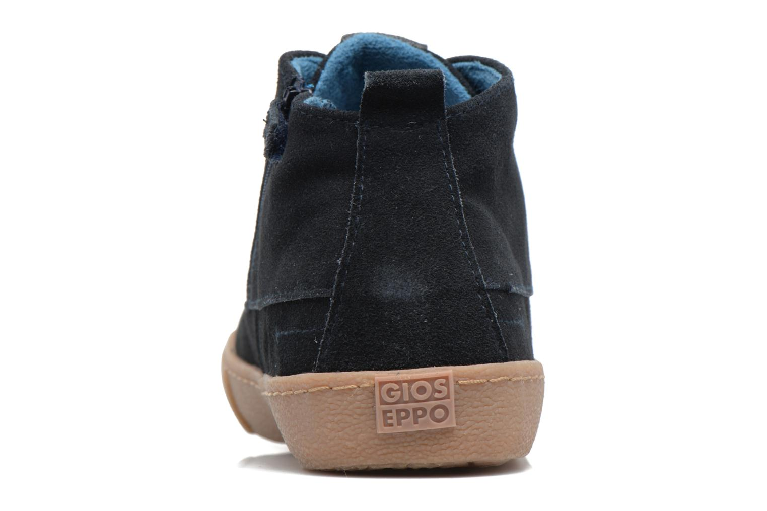 Trainers Gioseppo 41768 Blue view from the right