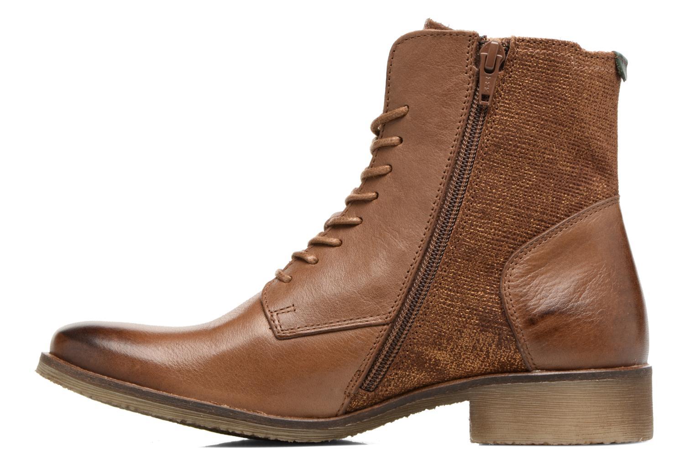 Bottines et boots Kickers LIFEBIS Marron vue face