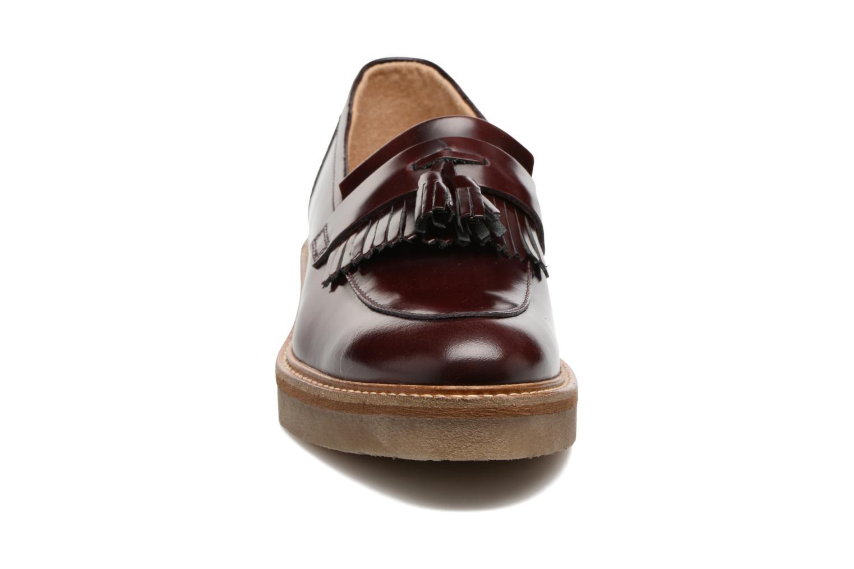 Mocassins Kickers OXFOX Bordeaux vue portées chaussures