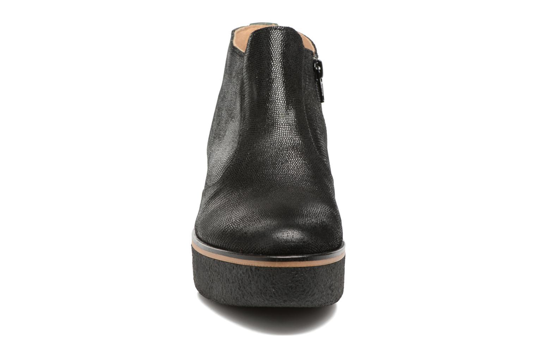 Bottines et boots Kickers PRINCE Noir vue portées chaussures