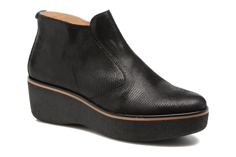 Bottines et boots Kickers PRINCE Noir vue détail/paire