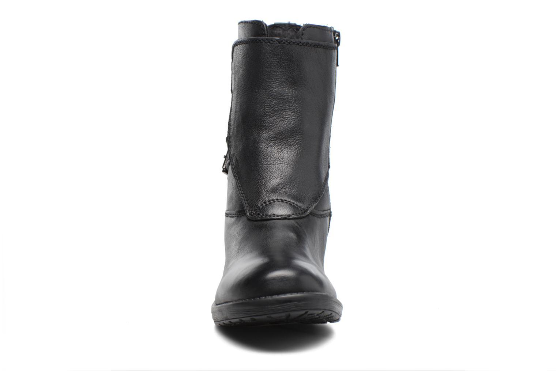 Bottines et boots Kickers REKKAN Noir vue portées chaussures
