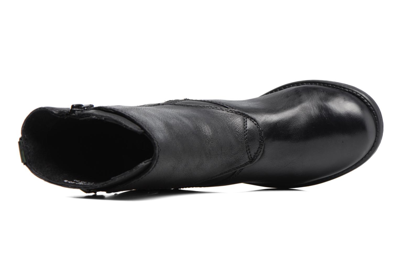 Bottines et boots Kickers REKKAN Noir vue gauche