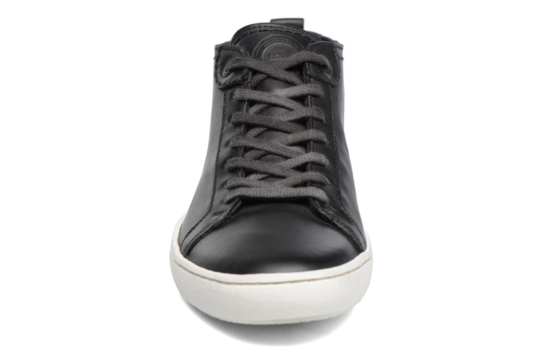 Baskets Kickers REVIEW Noir vue portées chaussures