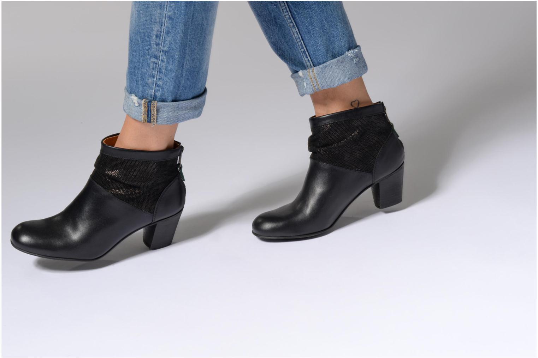 Bottines et boots Kickers SEETY Marron vue bas / vue portée sac