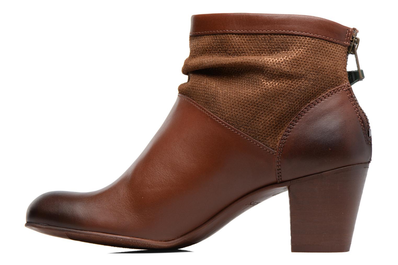 Boots en enkellaarsjes Kickers SEETY Bruin voorkant