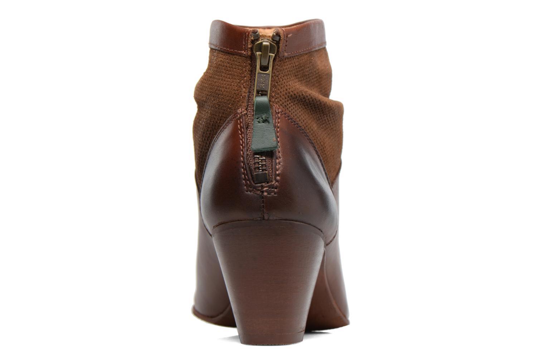 Boots en enkellaarsjes Kickers SEETY Bruin rechts