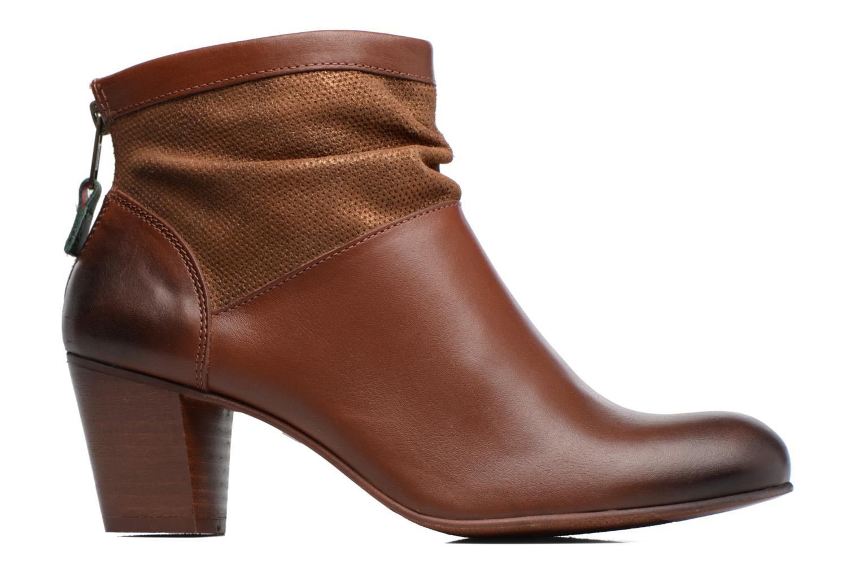 Boots en enkellaarsjes Kickers SEETY Bruin achterkant