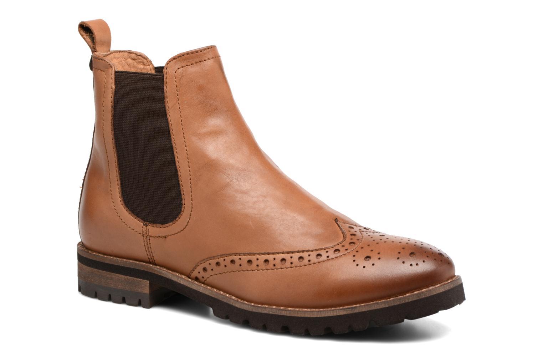 Bottines et boots Kickers WILOW Marron vue détail/paire