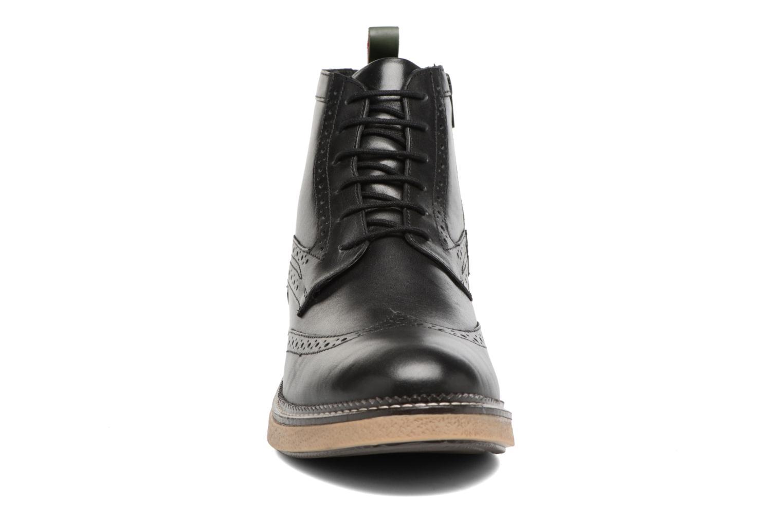 Bottines et boots Kickers FORTINO Noir vue portées chaussures
