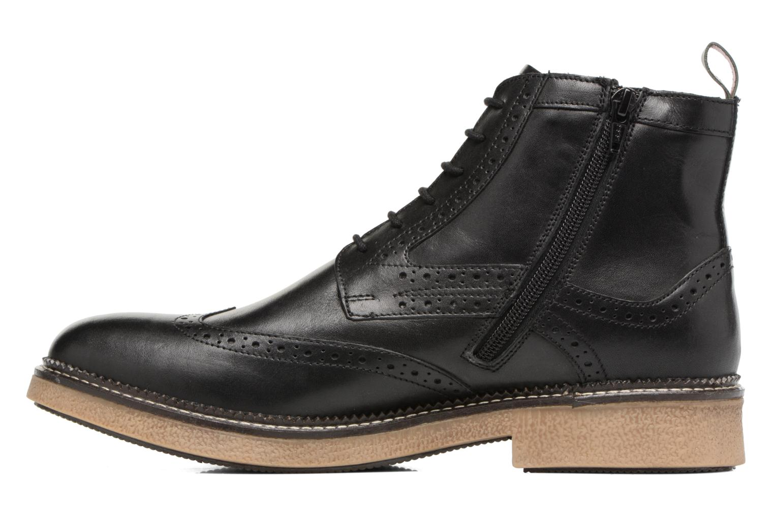 Bottines et boots Kickers FORTINO Noir vue face