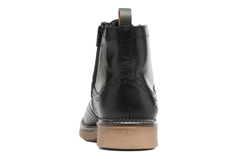 Bottines et boots Kickers FORTINO Noir vue droite