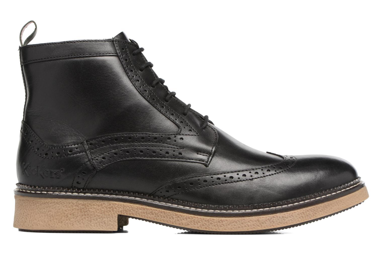 Bottines et boots Kickers FORTINO Noir vue derrière