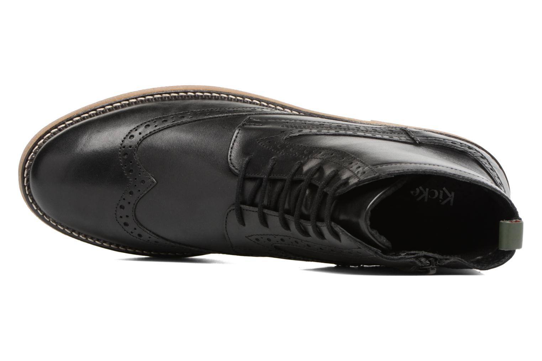 Bottines et boots Kickers FORTINO Noir vue gauche