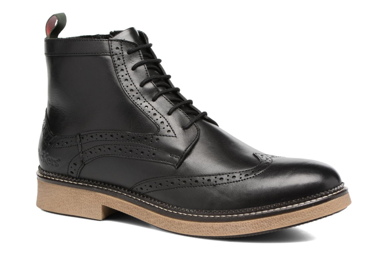 Bottines et boots Kickers FORTINO Noir vue détail/paire
