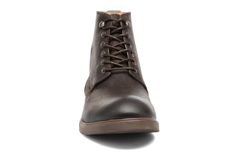 Bottines et boots Kickers HARLEMUS Marron vue portées chaussures