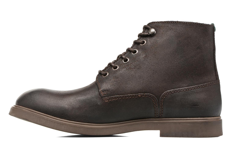 Bottines et boots Kickers HARLEMUS Marron vue face