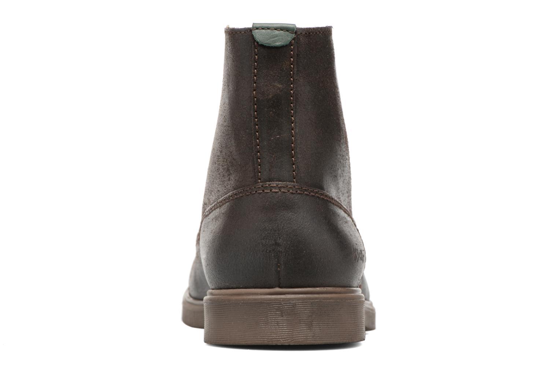 Bottines et boots Kickers HARLEMUS Marron vue droite