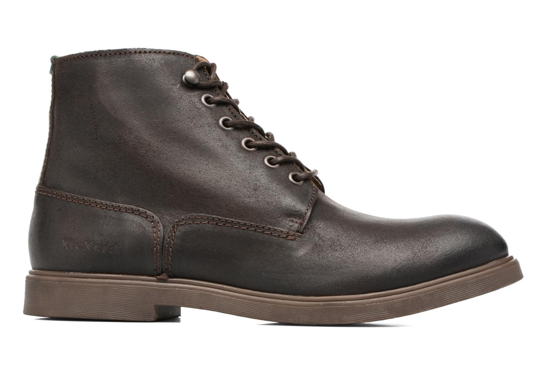 Bottines et boots Kickers HARLEMUS Marron vue derrière