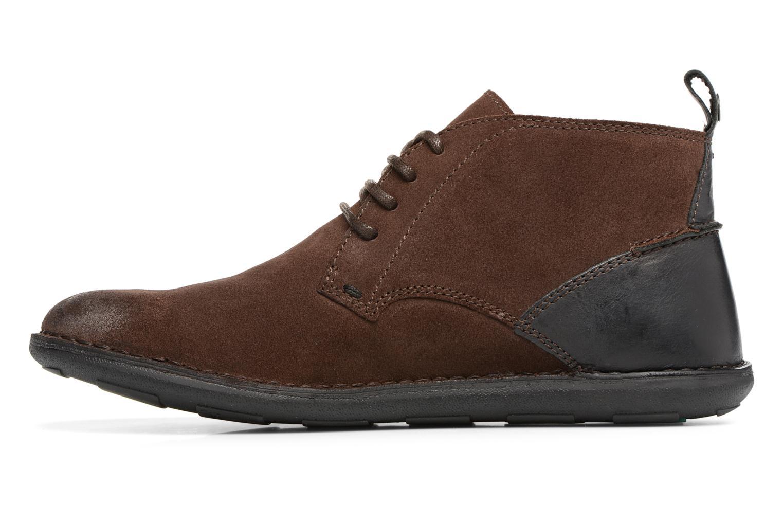 Chaussures à lacets Kickers SWIRATAN Marron vue face